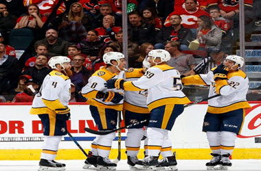 Nashville Predators Come out on top – Beat Calgary 5-3