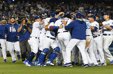 Los Angeles Dodgers Win NL West title