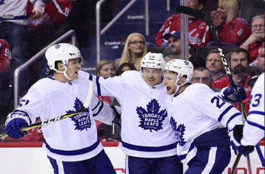 Toronto Continues Winning Streak on Road Against the Capitals