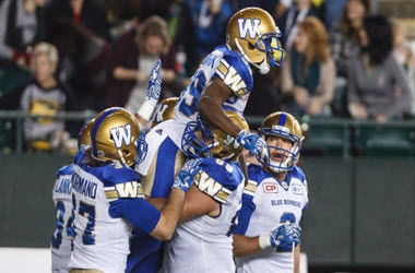 Blue Bombers Earn Third Straight Win after 40-32 Victory over Redblacks
