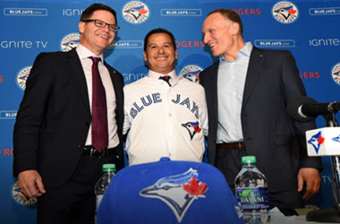 John Schneider Promoted by Toronto Blue Jays