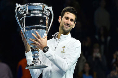 Novak Djokovic Defeats John Isner 6-4, 6-3 in Opener of ATP Finals