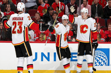 Calgary Flames Take Over First in Pacific Division with Win against Blackhawks