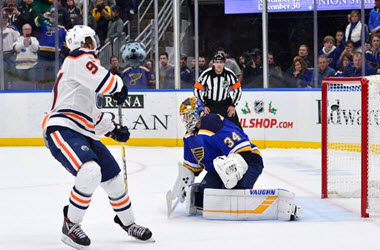 Edmonton Oilers Win in Shootout against the St Louis Blues