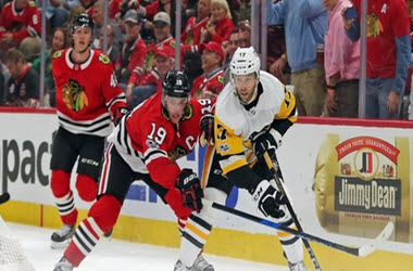 Chicago Blackhawks end losing streak against the Penguins