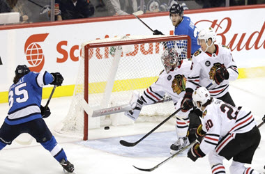Winnipeg Jets Come Away with Overtime against Chicago Blackhawks