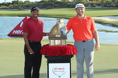 Jon Rahm Wins Hero World Challenge in the Bahamas