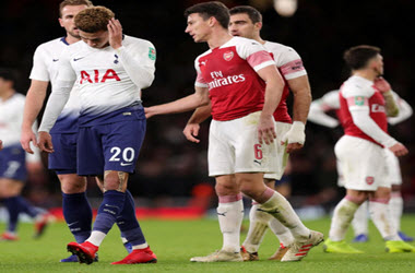 Dele Alli struck by Bottle After Tottenham beats Arsenal