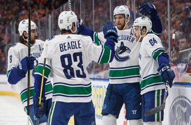 Vancouver Canucks Earn Victory over Edmonton