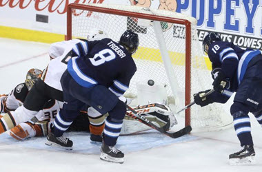 Winnipeg Jets Send Anaheim Packing with 11th straight loss