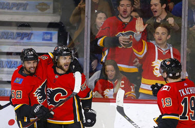 Calgary Flames Win Fourth Back to Back Against Florida Panthers