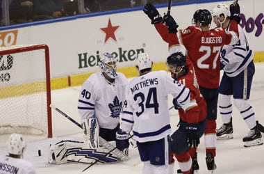 Florida Panthers End Losing Streak with Win over Maple Leafs