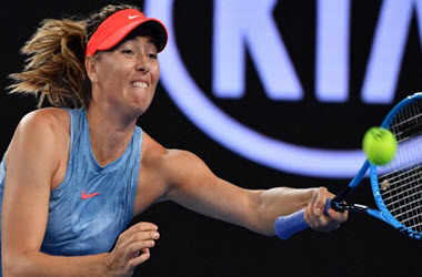Caroline Wozniacki Knocked Out of Australian Open by in Australia Maria Sharapova