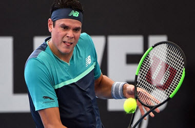 Canadians Milos Raonic and Bianca Andreescu Advance in Brisbane