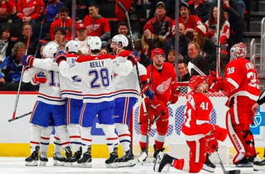 Montreal Canadiens Hold on to Defeat Red Wings