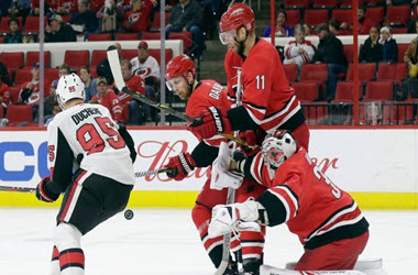 Ottawa Extends Losing Streak to Eight after Loss to Hurricanes