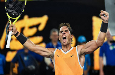 Rafael Nadal Defeats Stefanos Tsitsipas in Semis to Advance to Australian Open Final