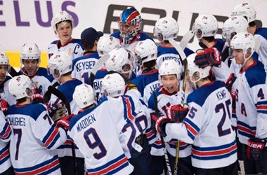 U.S Advances to Gold Medal Game after Victory over Russia