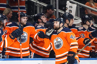 Edmonton Oilers Score Blowout Win over Buffalo