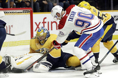 Nashville victorious over the Canadiens Thanks to Rinne