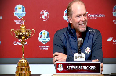 Stricker Named as Ryder Cup Captain for Team U.S