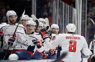 Washington Capitals Defeat Islanders as Ovechkin scores 45th