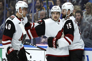 Arizona Coyotes Earn Playoff Spot after Win Against St. Louis