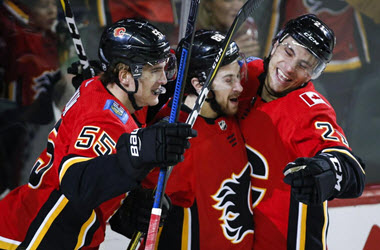 Calgary Flames End Losing Streak With Win over the Vegas Knights