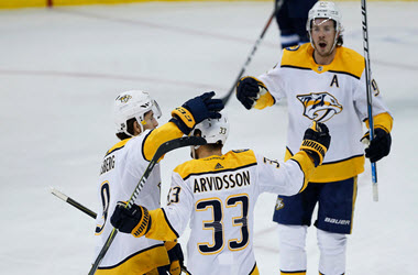 Nashville Predators Beat Minnesota Wild in Shootout