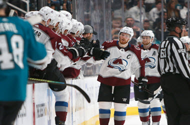 Colorado Avalanche Even Series with San Jose Sharks