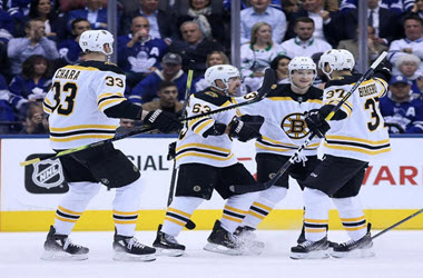 Boston Bruins Tie Series as Late Rally by Toronto Falls Short