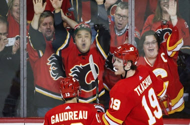 Calgary Flames Take Win in Game 1 against Colorado Avalanche