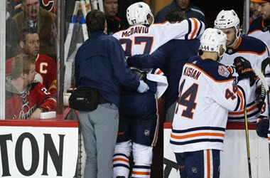 Leg Injury Update Positive for McDavid and Edmonton Oilers