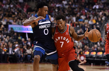 Toronto Raptors Devastate Timberwolves by 20 Points