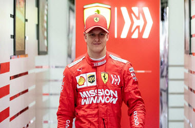 Mick Schumacher Second fastest During Ferrari F1 Testing Debut