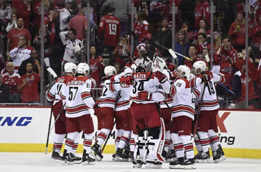Carolina Hurricanes Eliminate Washington Capitals in Game 7