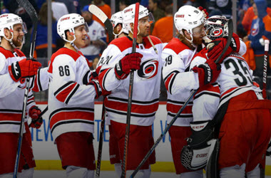 Carolina Hurricanes Take 2-0 Series Lead over the New York Islanders