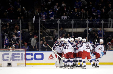 Columbus Blue Jacket Win Eliminate Montreal Canadiens from Playoff Race