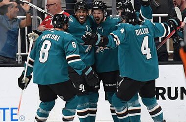San Jose Sharks Advance to Western Conference Final
