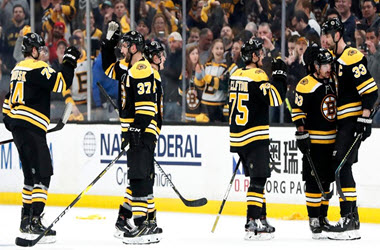 Boston Bruins Take 2-0 Series Lead Over Carolina Hurricanes