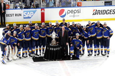 St. Louis eliminates San Jose to advance to first Stanley Cup final in 49 years