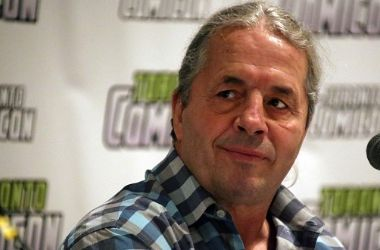 Bret Hart is a Canadian wrestling legend