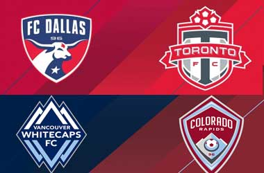 Dallas host Toronto, Vancouver host Colorado