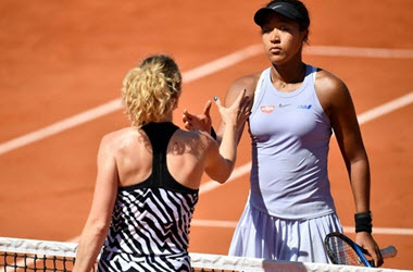 Winning streak Ends in Paris for Naomi Osaka