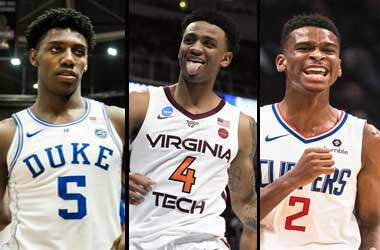 RJ Barrett, Nickeil Alexander-Walker and Shai Gilgeous-Alexander