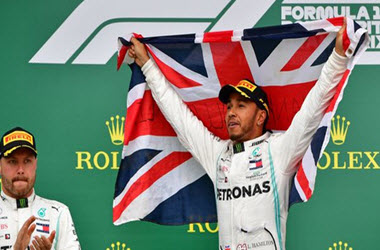 Lewis Hamilton Earns Sixth British Grand Prix Victory