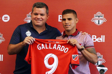 Erickson Gallardo Signed by Toronto FC