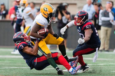 Montreal Alouettes Earn Third Win in a Row with Victory over the Edmonton Eskimos