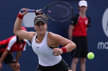 Bianca Andreescu Advances to 2nd round at U.S. Open