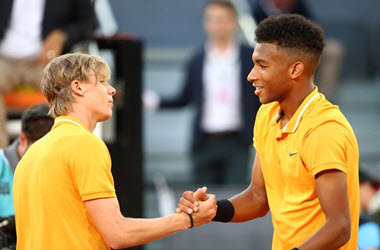 Canadians Shapovalov and Auger-Aliassime to Go Head to Head in U.S. Open First Round